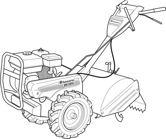 lawn mower design manufacture coloring page