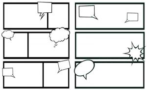Blank Comic Book Layout