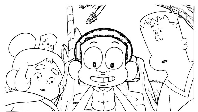 Craig of The Creek Coloring Page from Cartoon Network
