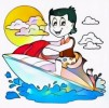 #7 Fun Jet Ski Coloring Pages for Kids