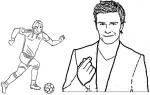 Top Famous Soccer Player Coloring Pages