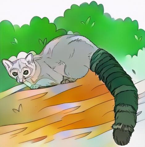 Lemur coloring work from Nanang