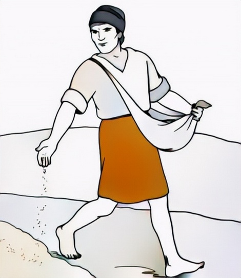 Parable of the Sower Coloring Work from Adel