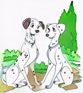 101 dalmatians coloring work result