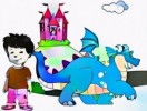 7 Fun Dragon Tales Coloring Pages for Kids