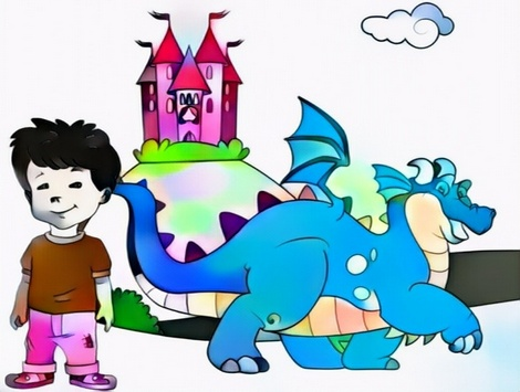 Dragon Tales Coloring Work