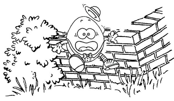 shrek humpty dumpty coloring page