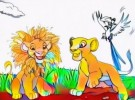 The Lion King Coloring Pages Will Help Kids Discover Artistic Potential