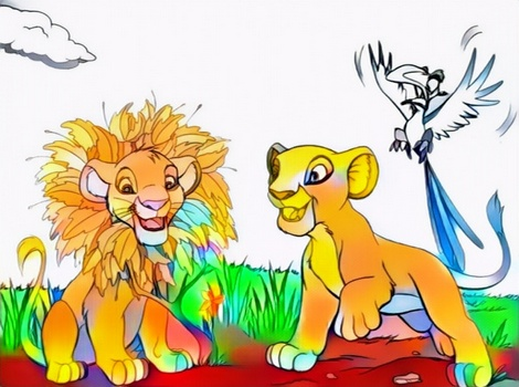 the lion king coloring work from my fathers for ideas