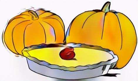 Pie Pumpkin Thanksgiving Coloring Work from Me for Ideas
