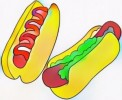 Nine Mouthwatering Hotdog Coloring Pages for Kids