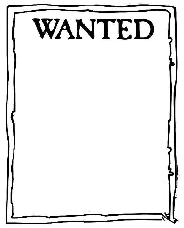 Wanted Poster Clipart