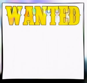 Wanted Poster Coloring Result Ready to publish information