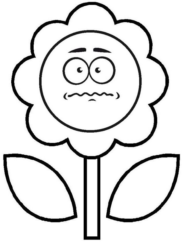 sacred sunflower face coloring page of cirlce