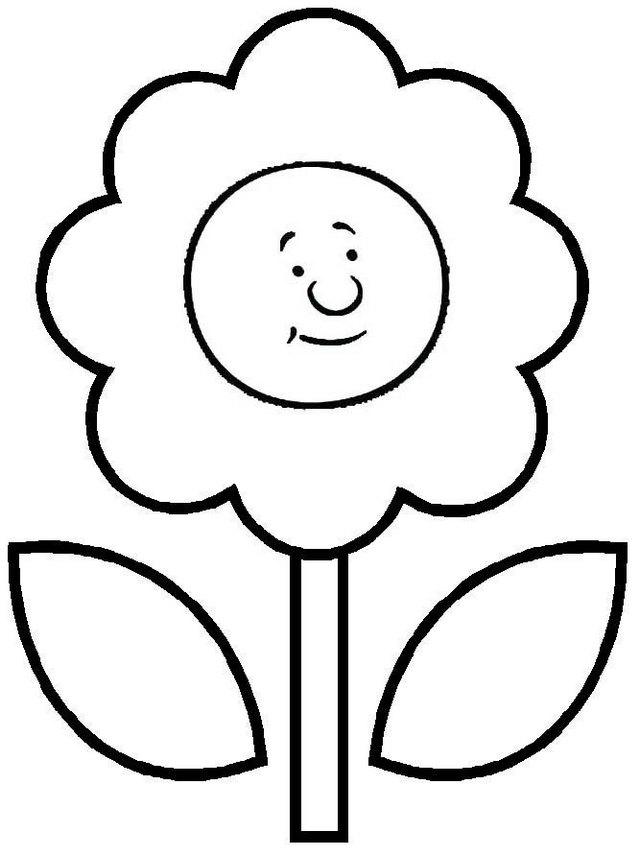 sad sunflower face coloring page of circle